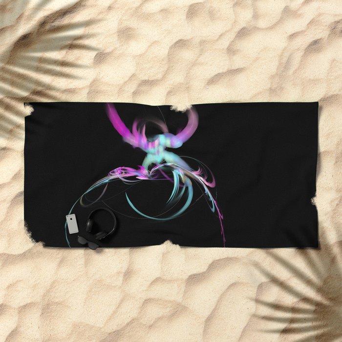 Explored  (A7 B0187) Beach Towel