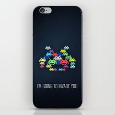 invader boss iPhone & iPod Skin