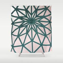 Arabic Pattern Retro Shower Curtain