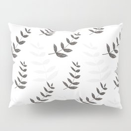Outline herb and spice pattern Pillow Sham