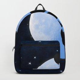 Starry Night Balloons Girl Backpack