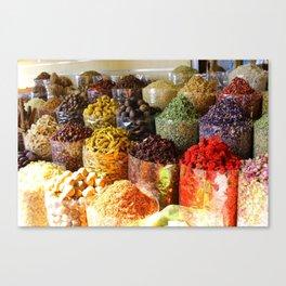 Dubai Creek Spices Canvas Print