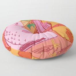 Love Birds Floor Pillow
