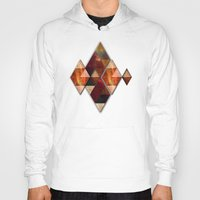 polygon Hoodies featuring Polygon by Tony Vazquez