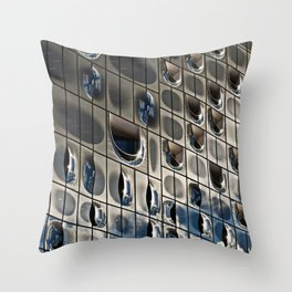 METALLIC SOUND Throw Pillow