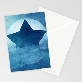 Star Composition III Stationery Cards