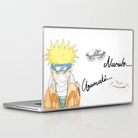 naruto Laptop & iPad Skins featuring Naruto Uzumaki by rosalia