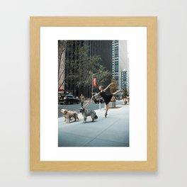 Random Acts of Dancing 3 Framed Art Print
