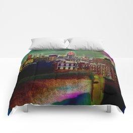 Manipulated City Comforters