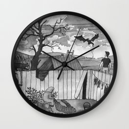 Weird Dreams Wall Clock