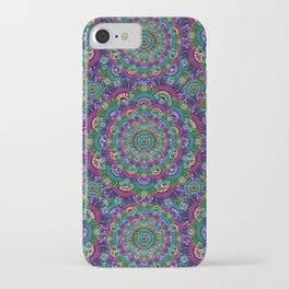 Bohemian Hippie Festival Psychedelic Design iPhone Case