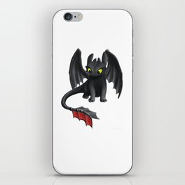Toothless Dragon iPhone Skin
