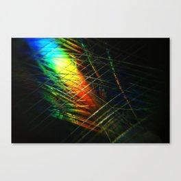 Scratched Canvas Print