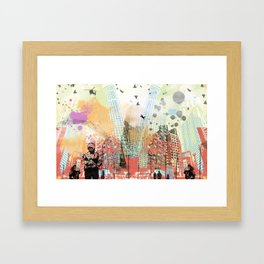 A tale of two cities 1 Framed Art Print