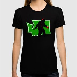 Bigfoot walk in Washington T-shirt