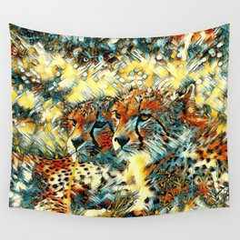 AnimalArt_Cheetah_20171004_by_JAMColorsSpecial Wall Tapestry