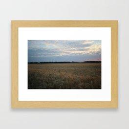 Nr Corn Framed Art Print