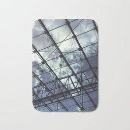 Glass Ceiling III (Portrait) - Architectural Photography Bath Mat
