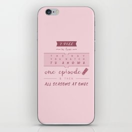 TFiOS misquote #1 (TV SHOWS) iPhone Skin
