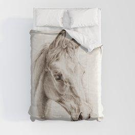 Colt pencil drawing Comforters