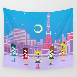 .:Tiny pixel series:. Sailor Moon Wall Tapestry