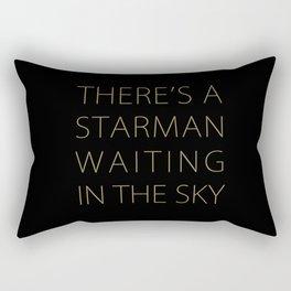 STARMAN /GOLD Rectangular Pillow