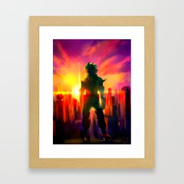 MIDORIYA IZUKU / DEKU - MY HERO ACADEMIA Framed Art Print