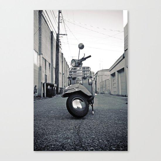 Urban Vespa Canvas Print