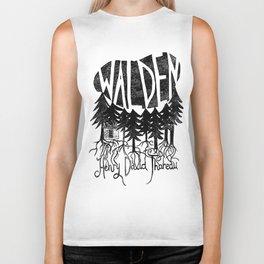 Walden (Black & White) Biker Tank