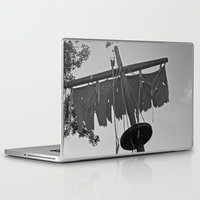 pirate ship Laptop & iPad Skins featuring Pirate Ship by Yellow Tie