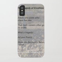Tragedy of Creatives iPhone Case