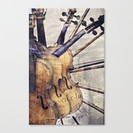 Classic Violins Canvas Print