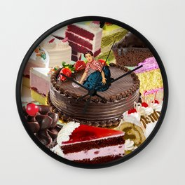 The Cake Factory Wall Clock