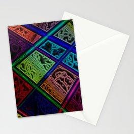 Primary Diamonds Stationery Cards