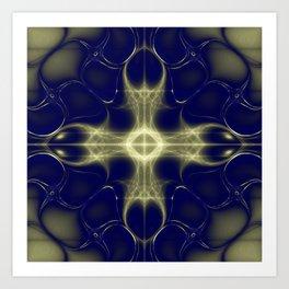 Fractal Abstract 13 Art Print