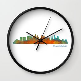 Philadelphia city pen Wall Clock