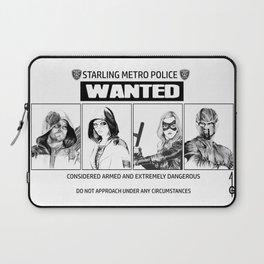 ARROW Wanted (Green Arrow,Spartan, Speedy,Black Canary) Laptop Sleeve
