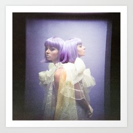 Oh Thumbelina - Holga Double Exposure Art Print