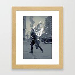 TASHA the NY ANGEL Framed Art Print