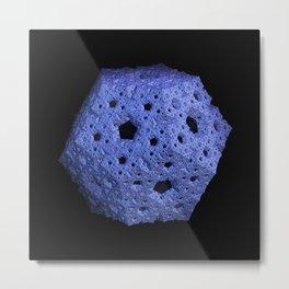 3D Fractal Dodecahedron Metal Print