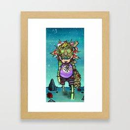 Extravagant Boy Framed Art Print
