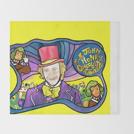The Dali Wonka Throw Blanket