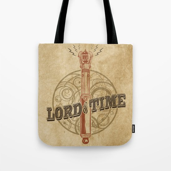 Steampunk Sonic Screwdriver Tote Bag