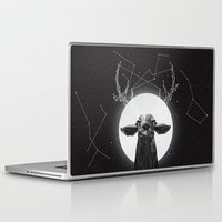 deer Laptop & iPad Skins featuring The Banyan Deer by Davies Babies
