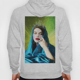 Mary Magdalene in green light Hoody