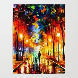 Tardis Art Watching Poster