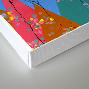 Candy Mountain Canvas Print