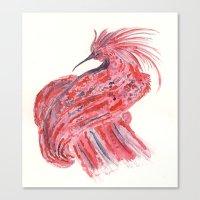 phoenix Canvas Prints featuring phoenix by echoes