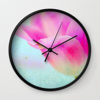 spirit Wall Clocks featuring spirit by Claudia Drossert