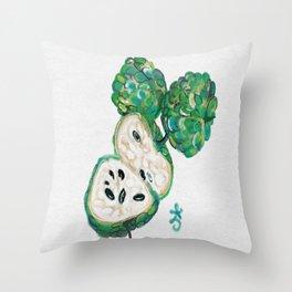 Sweet Sop Sugar Spring Throw Pillow